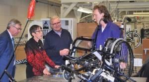 Staatssecretaris Klijnsma brengt werkbezoek aan Westrom